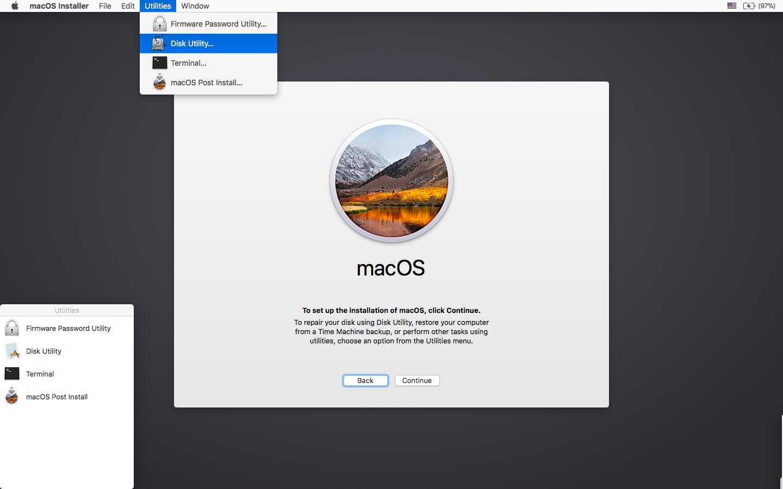 macOS High Sierra Patcher