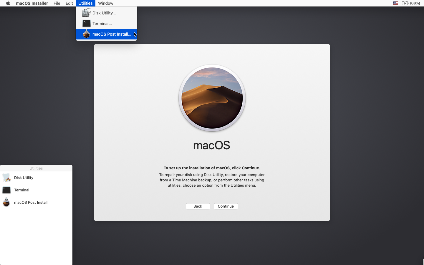 macOS Mojave Patcher